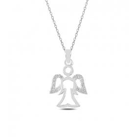 eJOYA Meleğim Gümüş Kolye 82797