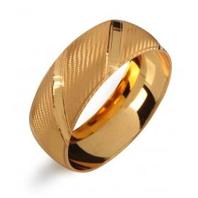 eJOYA 22 Ayar Altın Kaplama Laser İşlemeli Bujiteri Bilezik 82845