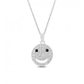 eJOYA Smiley Gümüş Kolye 82852