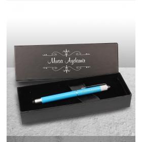 eJOYA Kişiye Özel Kutuda Tasarım Mavi Roller Touch Kalem 83052
