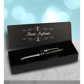 eJOYA Kişiye Özel Kutuda Işıklı Siyah Touch Kalem 83072