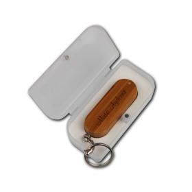eJOYA Kişiye Özel Bambu 16gb USB Anahtarlık 83173