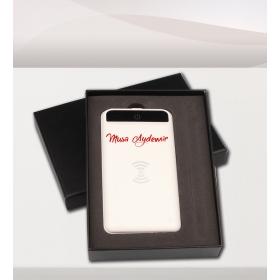 eJOYA Kişiye Özel Beyaz 8000 MAH Wireless Powerbank 83220