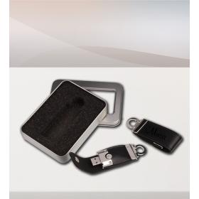 eJOYA Kişiye Özel Deri 16gb USB Anahtarlık 83229