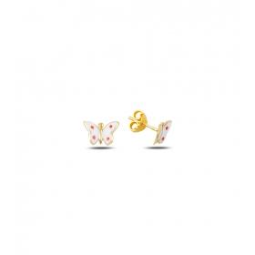 eJOYA Çocuk Kelebek Altın Küpe 83369