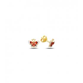 eJOYA Çocuk Kelebek Altın Küpe 83379