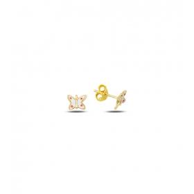 eJOYA Çocuk Kelebek Altın Küpe 83391
