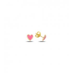 eJOYA Çocuk Kalp Altın Küpe 83394