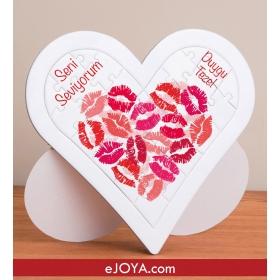 Kişiye Özel Love You Kalp Puzzle hf7911 80655