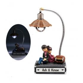 eJOYA Kişiye Özel Nostaljik Aşıklar Lambası 83853