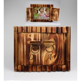 eJOYA Kişiye Özel Resimli Bambu Çerçeve 83854