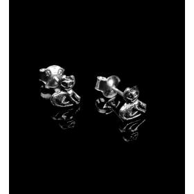 eJOYA Gümüş Otantik Kedi küpe 83971
