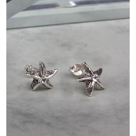 eJOYA Gümüş Otantik Deniz Yıldızı  küpe 83988