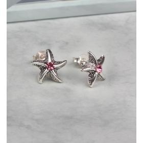 eJOYA Gümüş Otantik Deniz Yıldızı  küpe 83989