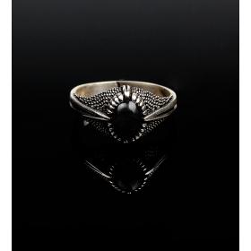 eJOYA 925 Ayar Onix Gümüş Erkek Yüzük 84086