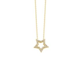 eJOYA 14 Ayar Altın Yıldız Taşlı Kolye 84288
