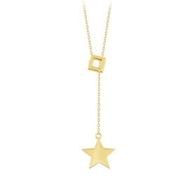 eJOYA 14 Ayar Altın Yıldız Kolye 84299