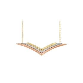 eJOYA 14 Ayar Altın Martı Taşlı Kolye 84355