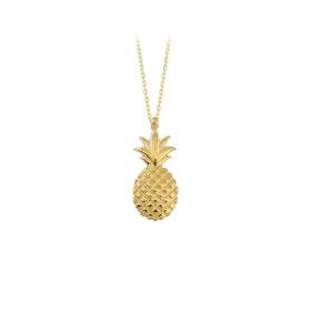 eJOYA 14 Ayar Altın Ananas Taşlı Kolye 84390