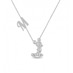 eJOYA Kişiye Özel Harfli Gümüş Kolye 84579