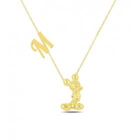 eJOYA Kişiye Özel Harfli Gümüş Kolye 84581
