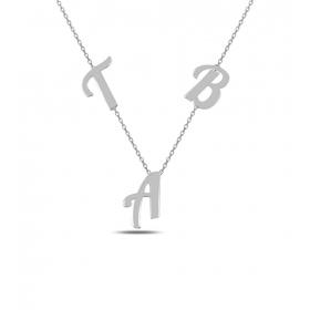 eJOYA Kişiye Özel Harfli Gümüş Kolye 84590