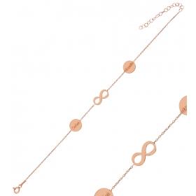 eJOYA Kişiye Özel Sonsuzluk Harfli Gümüş Bileklik 84607