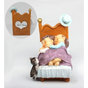 eJOYA Kişiye Özel Seninle Uyumak Güzel Temalı Biblo 84634