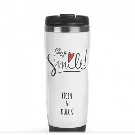 Kişiye Özel Kişiye Özel Smile Termos hf10915 84648