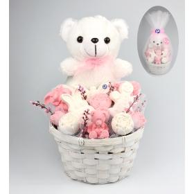 eJOYA Hoşgeldin Bebek Kız Aranjmanı 84746