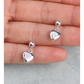 eJOYA Kalp Gümüş Küpe 84811