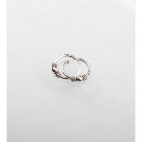 eJOYA Halka Gümüş Küpe 84836