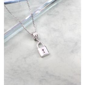 eJOYA Zircone Taşlı Gümüş Kilit Kolye 84838