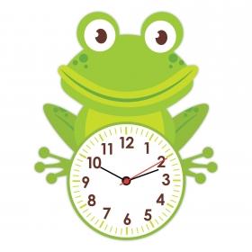 eJOYA Şirin Kurbağa Çocuk Duvar Saati 84868