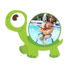 eJOYA Kişiye Özel Şirin Kaplumbağa Çocuk Duvar Saati 84928
