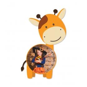 eJOYA Kişiye Özel Şirin Zürafa Çocuk Duvar Saati 84931