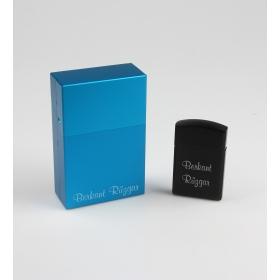 eJOYA Kişiye Özel Metal Çakmak Ve Sigara Tabakası 85082