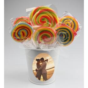 eJOYA Kişiye Özel Renkli Şeker Aranjmanı 85151