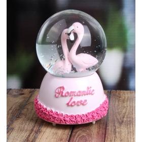 eJOYA Aşık Flamingolar Kar Küresi 85228