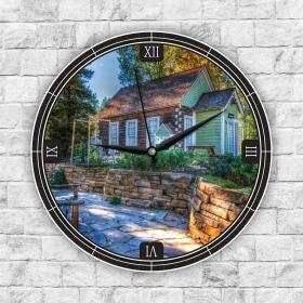 Ejoya Manzaralı Dekoratif Duvar Saati 85280