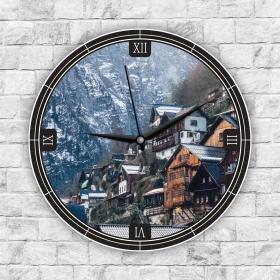 Ejoya Manzaralı Dekoratif Duvar Saati 85282