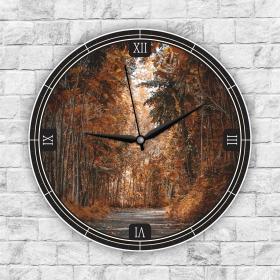 Ejoya Manzaralı Dekoratif Duvar Saati 85295