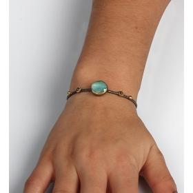 eJOYA Blue Topaz Taşlı Gümüş Bileklik 85396