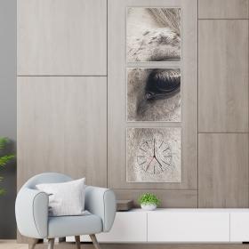 Ejoya Dekoratif Tablo Duvar Saati 86075