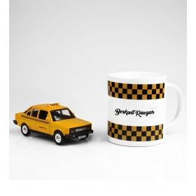 eJOYA Kişiye Özel Nostaljik Taksi Hediye Seti 86138
