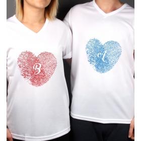 eJOYA Kişiye Özel Çift Kadın Erkek Tshirt 86438