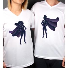 eJOYA Kişiye Özel Çift Kadın Erkek Tshirt 86440