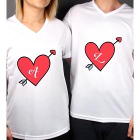 eJOYA Kişiye Özel Çift Kadın Erkek Tshirt 86442