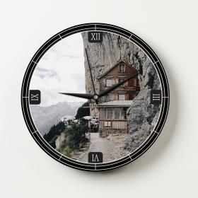 Ejoya Manzaralı Dekoratif Duvar Saati 86524