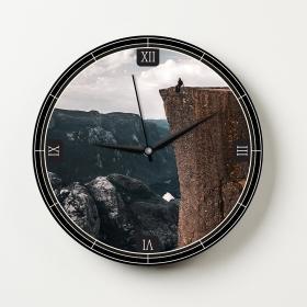 Ejoya Manzaralı Dekoratif Duvar Saati 86540